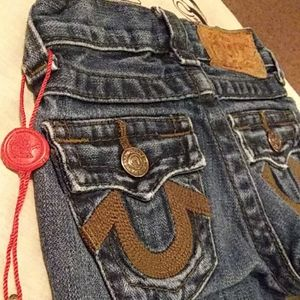 EUC True Religion girls jeans size 2 T.